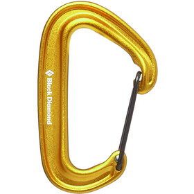 Black Diamond Miniwire Moschettone, yellow